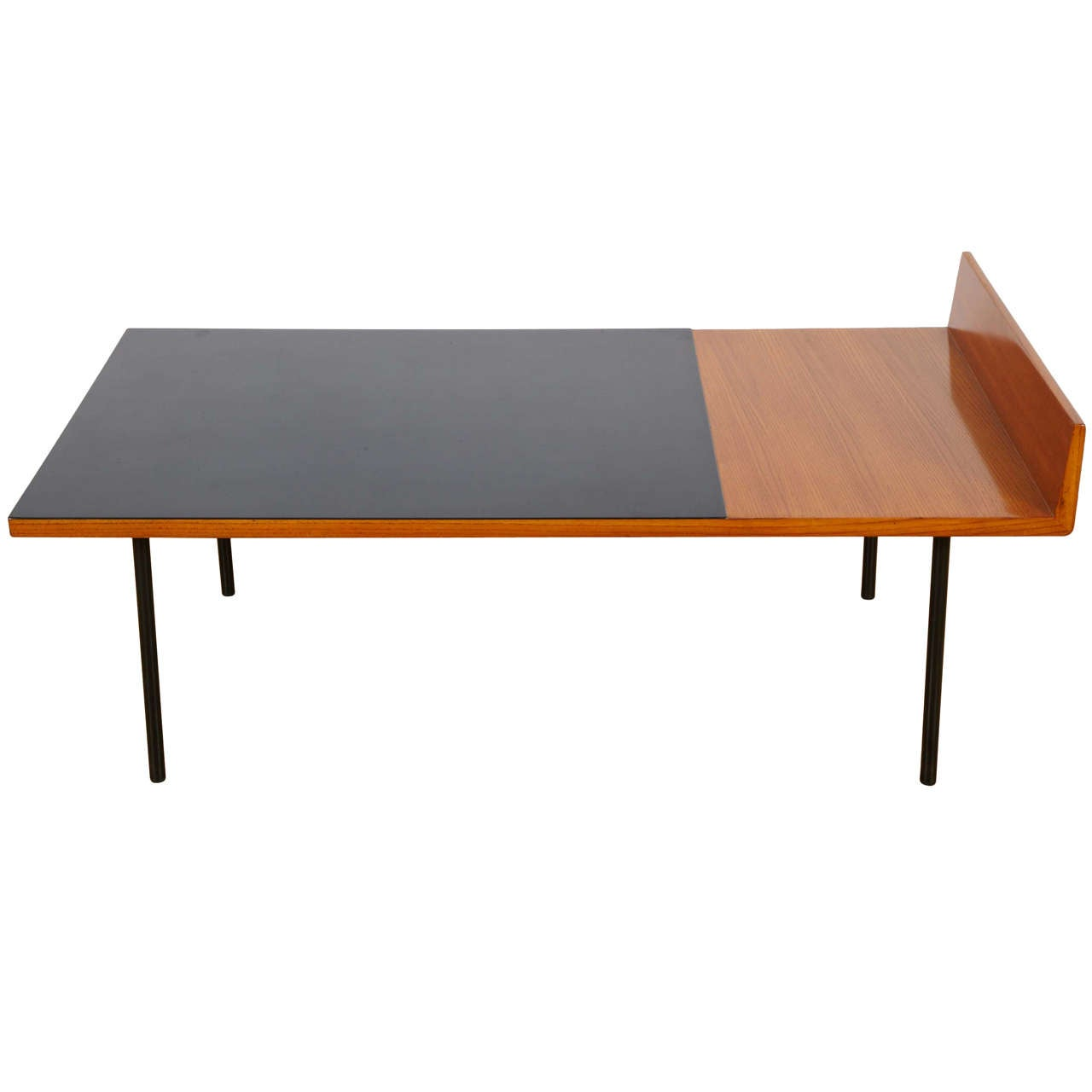 low table model 132 by andr monpoix meubles tv edition 1953 1954 at 1stdibs. Black Bedroom Furniture Sets. Home Design Ideas