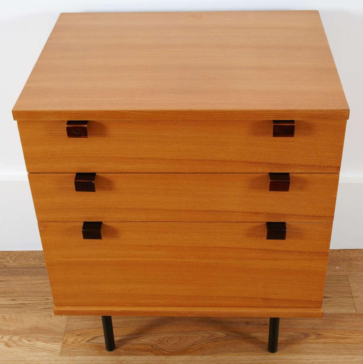 Chest of drawers model 219 by alain richard meubles tv for Meuble 8 cases