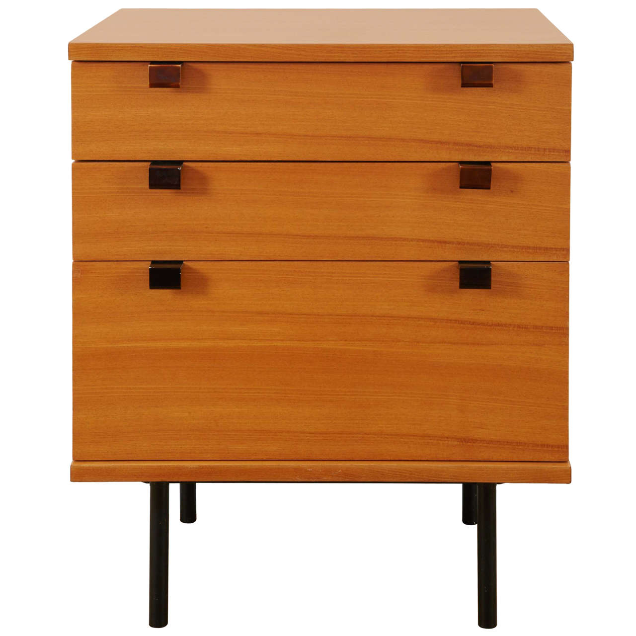 chest of drawers model 219 by alain richard meubles tv edition 1954 1955 at 1stdibs. Black Bedroom Furniture Sets. Home Design Ideas