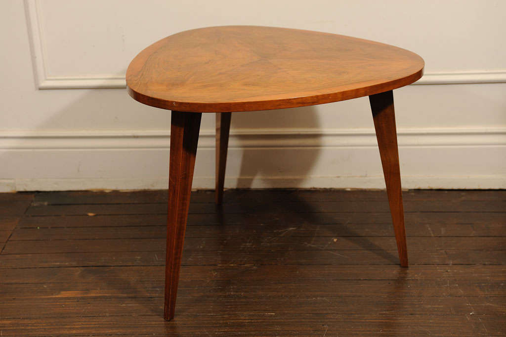 French Three Legged Occasional Table