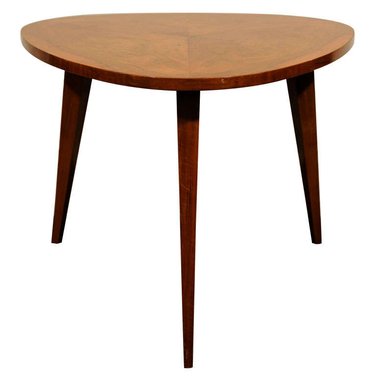 Three Legged Occasional Table At 1stdibs