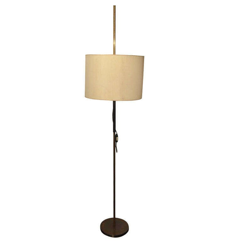 Italian  Adjustable Floor Lamp by O-Luce