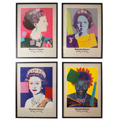 "Warhol Posters:""Reigning Queens"" 1980 Gallery Exhibit"