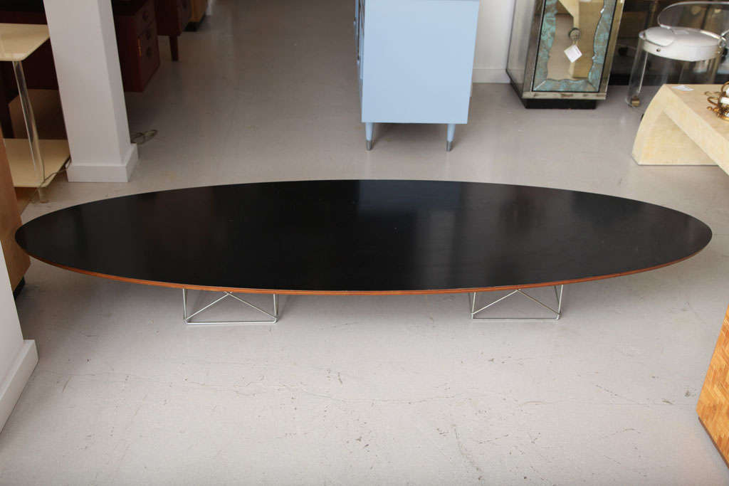 Eames for Herman Miller Vintage Surfboard Coffee Table 3 - Eames For Herman Miller Vintage Surfboard Coffee Table At 1stdibs