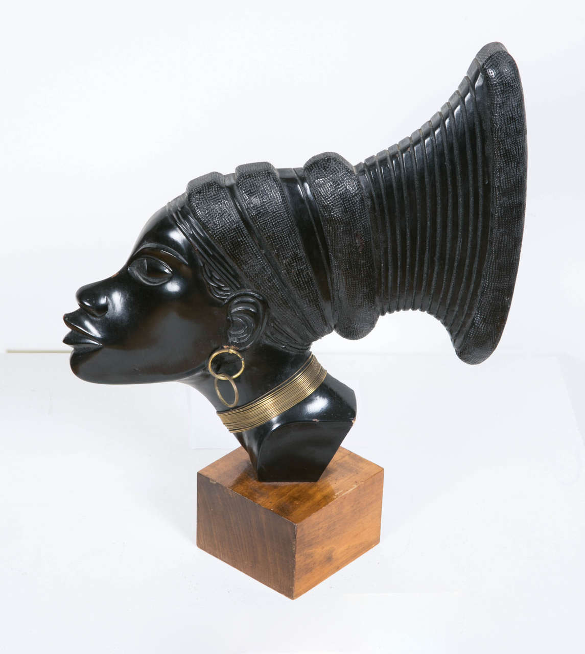 Art Deco Profile of an African Woman, circa 1930 2