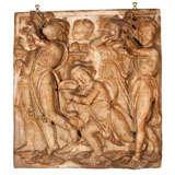 Antique Plaster Cast of Figures