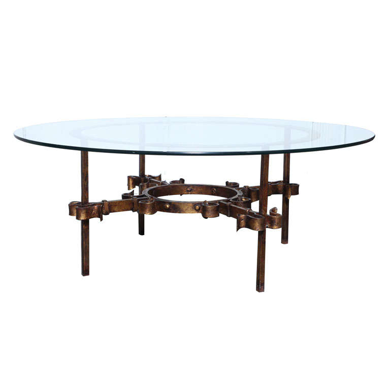 Https 1stdibs Com Furniture Tables Coffee Tables Cocktail Tables Gilded Glam Transitional Coffee Table Id F 453258