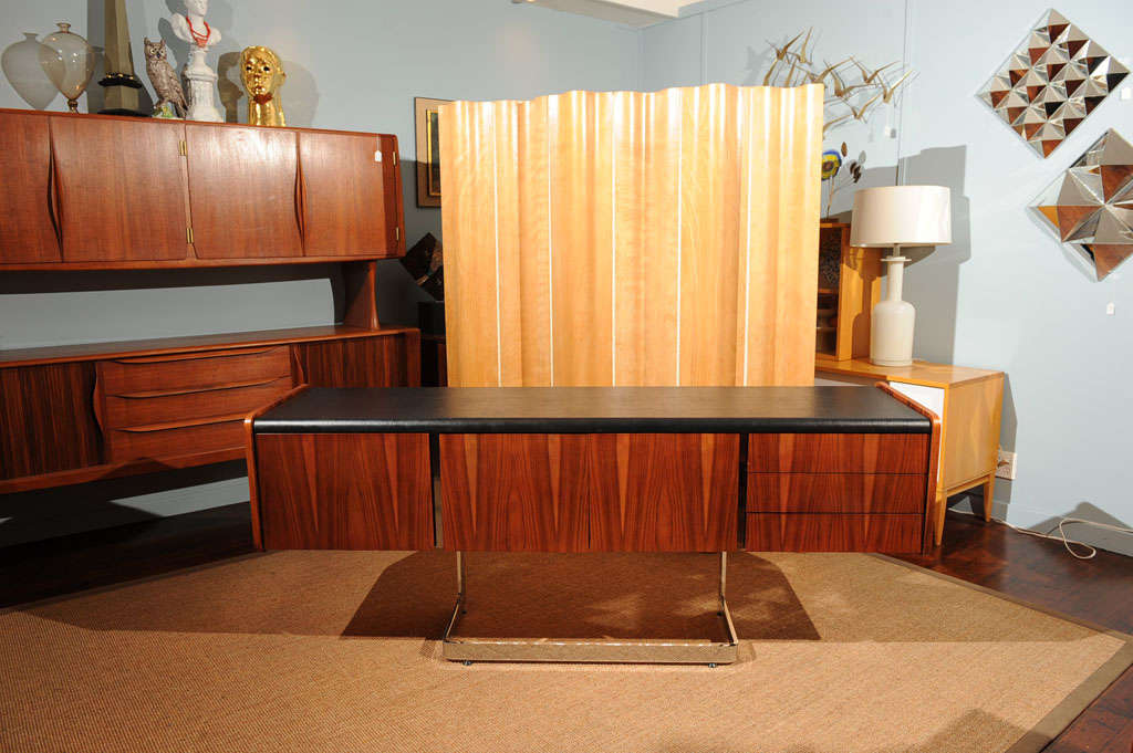 Canadian Rosewood Credenza For Sale