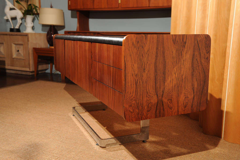 Rosewood Credenza For Sale 2