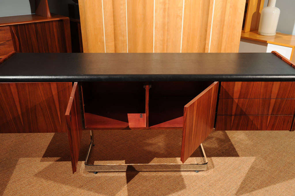 Rosewood Credenza For Sale 4