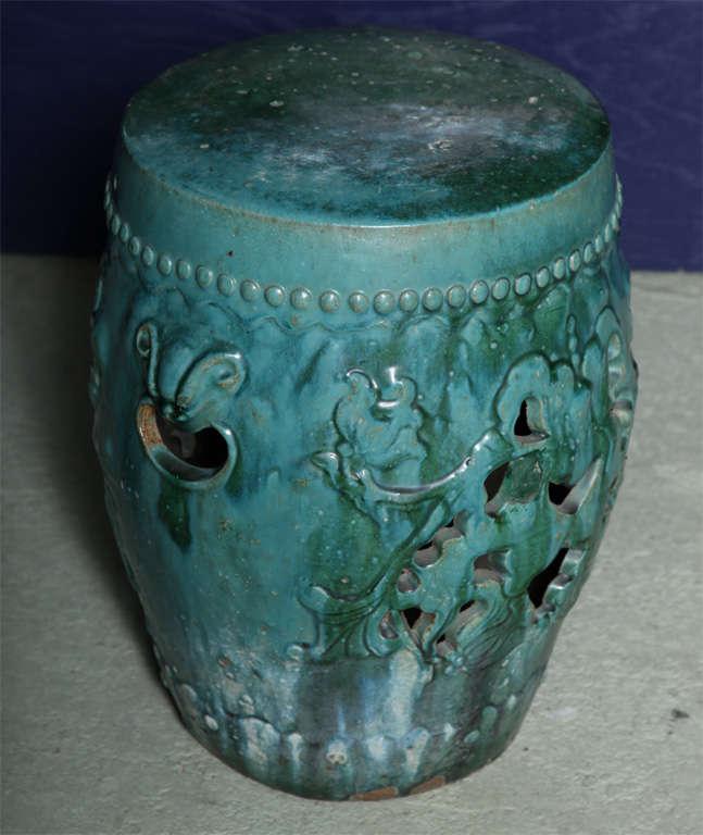 A Rare And Beautiful Ceramic Garden Seat At 1stdibs