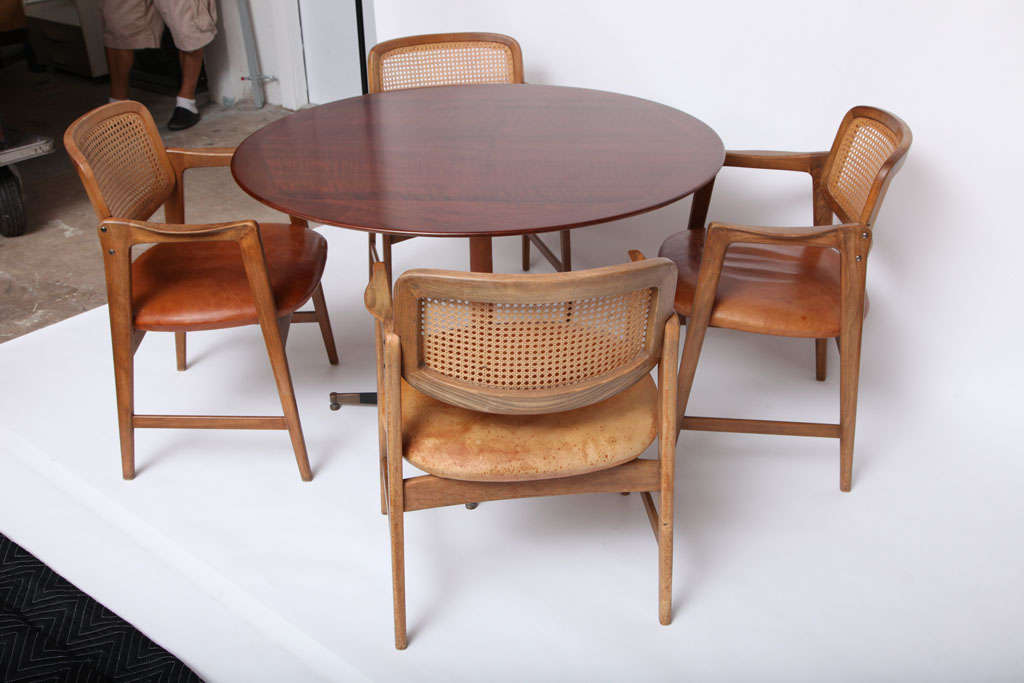 Harvey Probber Table and four Chairs at 1stdibs : IMG3677 from www.1stdibs.com size 1024 x 683 jpeg 58kB