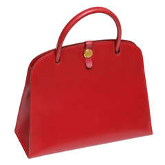 Original Hermes Dalvy Leather Handbag, Paris