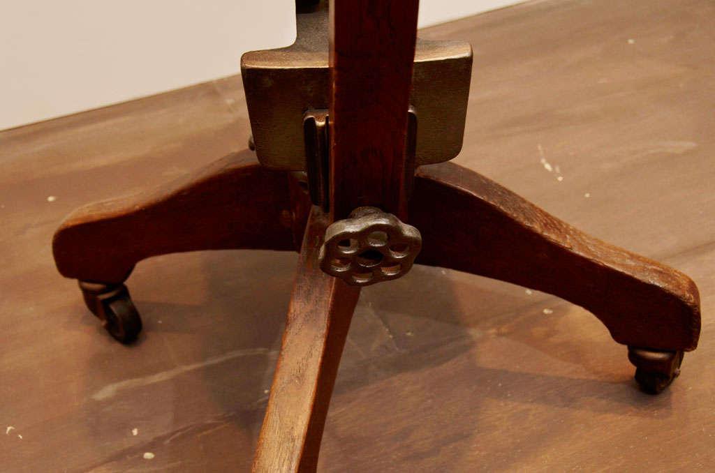 Oak Task Chair For Sale 1