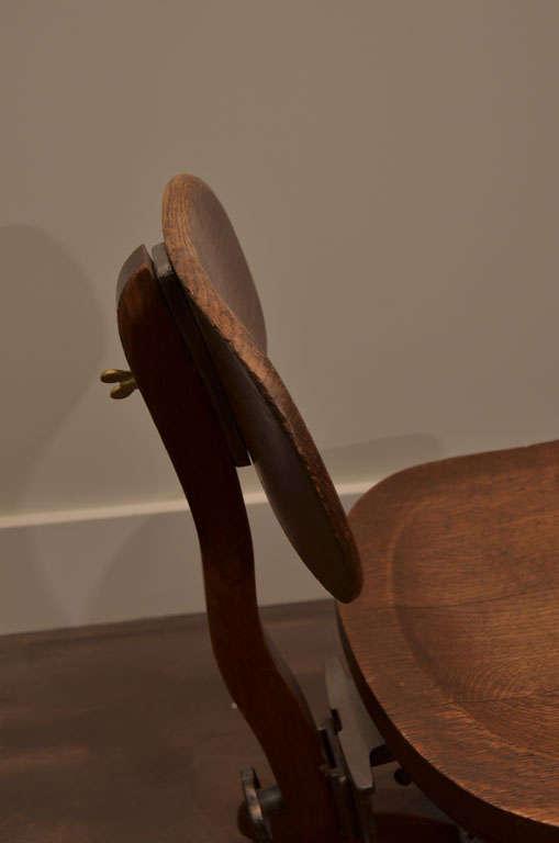 Oak Task Chair For Sale 2