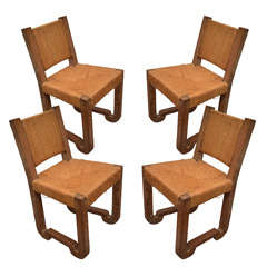Set of Four Modernist Dining Chairs