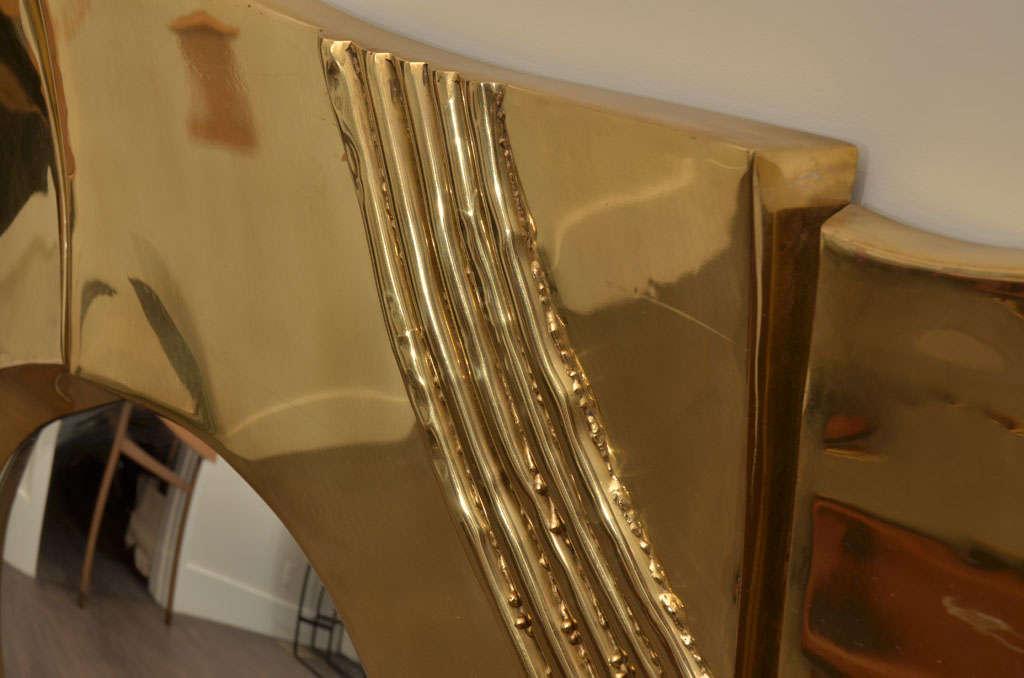 Brass Mirror by Chervet 3