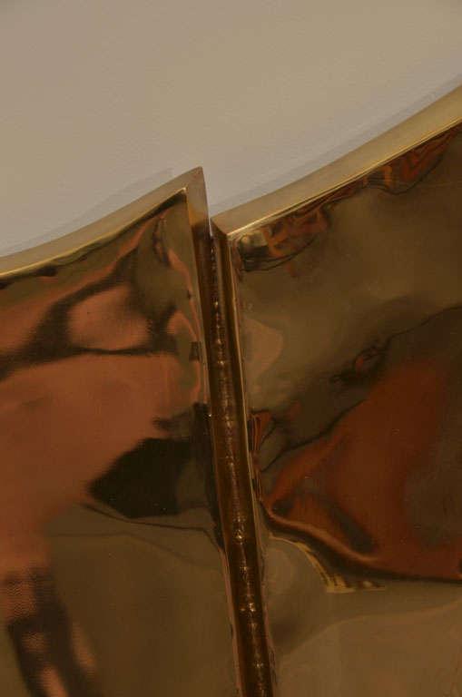 Brass Mirror by Chervet 5