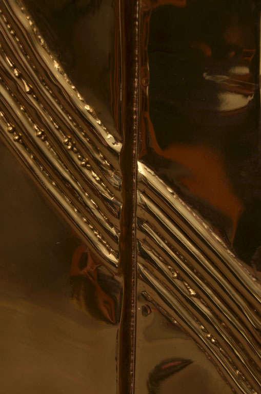 Brass Mirror by Chervet 7