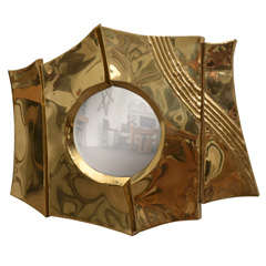 Brass Mirror by Chervet