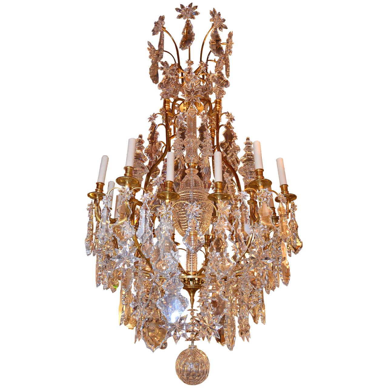Crystal Chandelier Sale: Antique Chandelier. Crystal Chandelier For Sale At 1stdibs