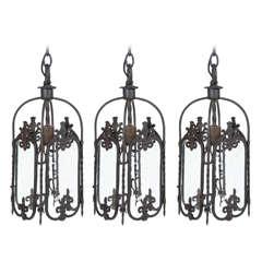 Trio of Hanging Lanterns