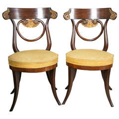 Pair of Austrian Side Chairs