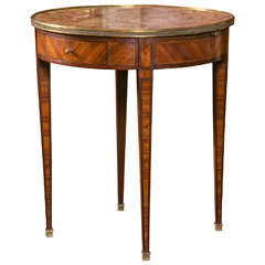 French Bouillotte Table in Kingwood
