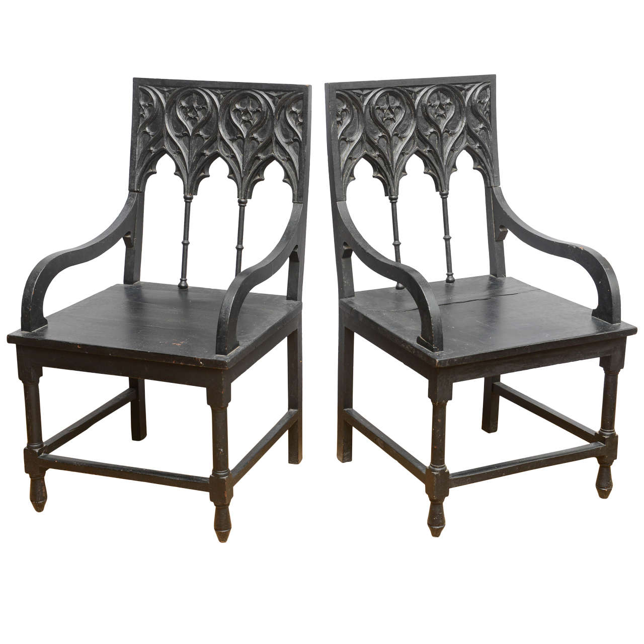 Pouf Design Egg Pouf Jacobsen : Spanish gothic armchairs at stdibs