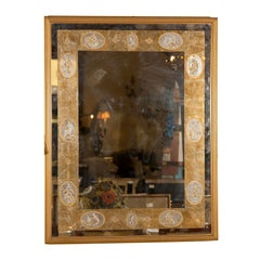 Decorative Gilt-Framed Mirror