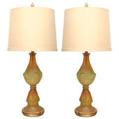 Pair of 1960s Marbro Lamps