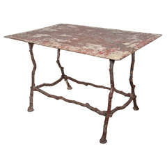 19th c. French iron table