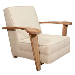 De Coene Oak Armchair