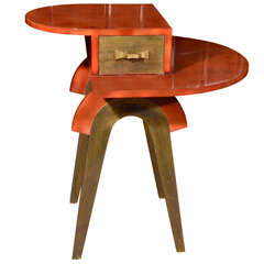 Occasional Table By Eugene Printz, French 1930