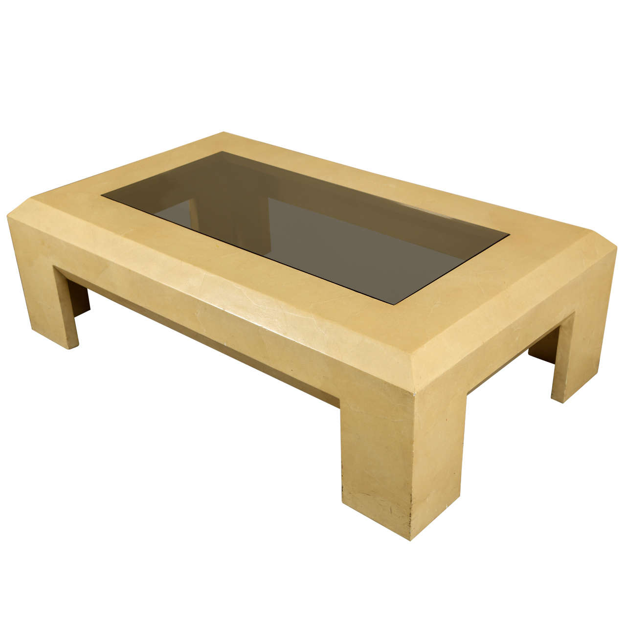 Very Nice Angular Coffee Table By Steve Chase At 1stdibs