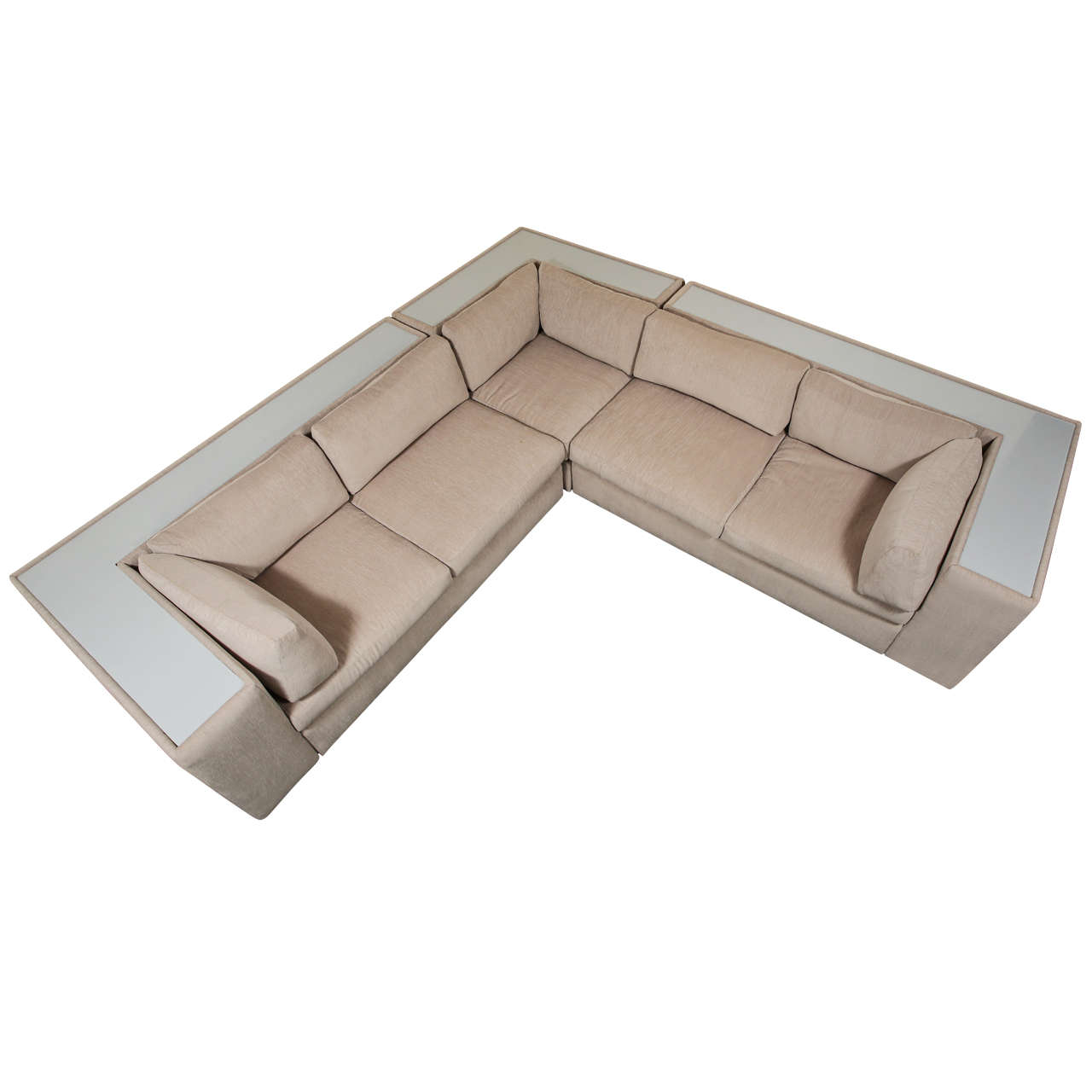 Milo Baughman Sectional Sofa