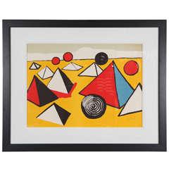 "Alexander Calder: ""Pyramids at Night"""