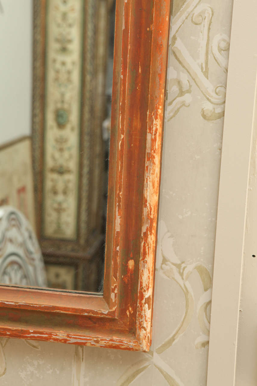 Pair of Large Italian 19th Century, Mirrors For Sale 2