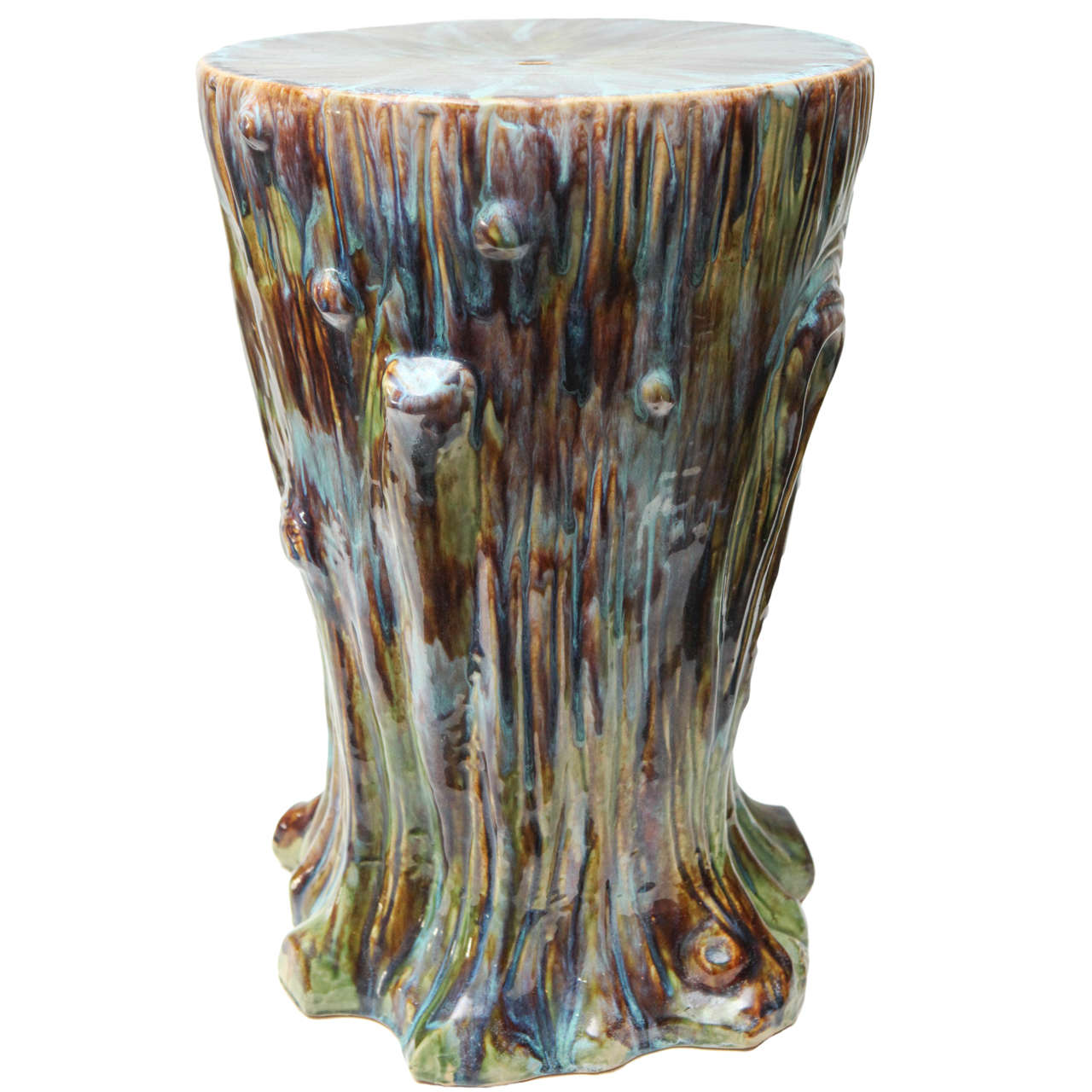 Ceramic Garden Stool, circa 1960s
