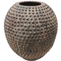 African Beaded Water Pot
