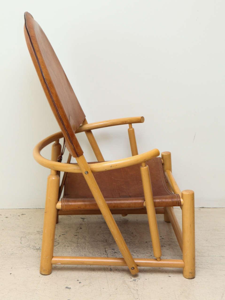 Beech Rare Hoop Chair by Børge Mogensen For Sale