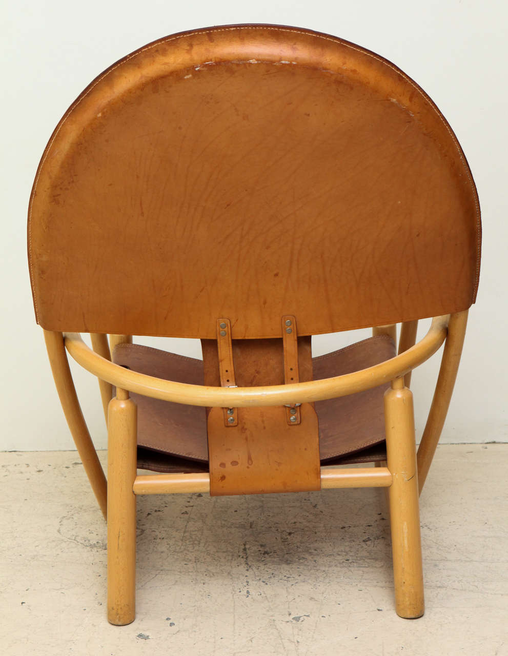 Rare Hoop Chair by Børge Mogensen For Sale 1