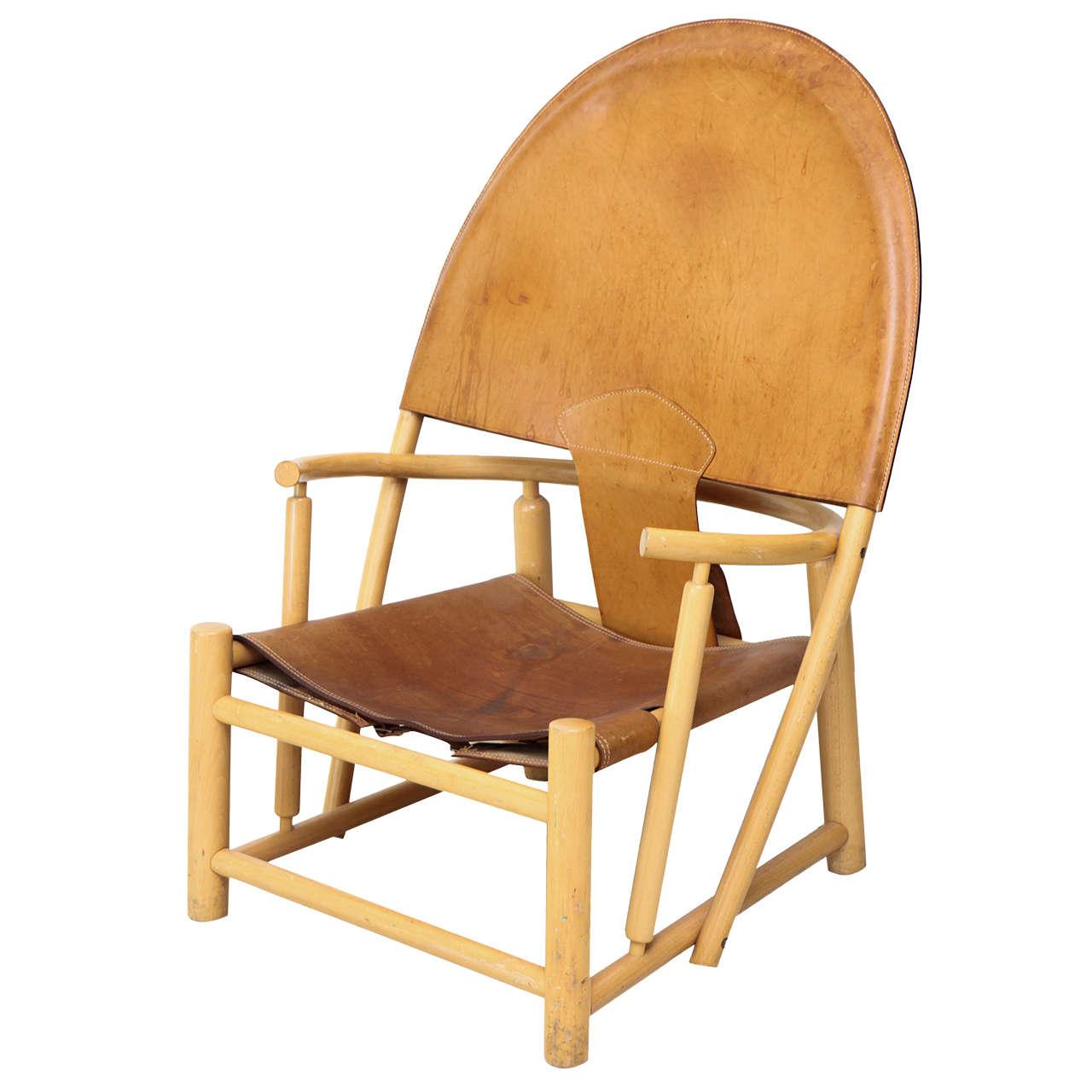 Rare Hoop Chair By B 248 Rge Mogensen At 1stdibs