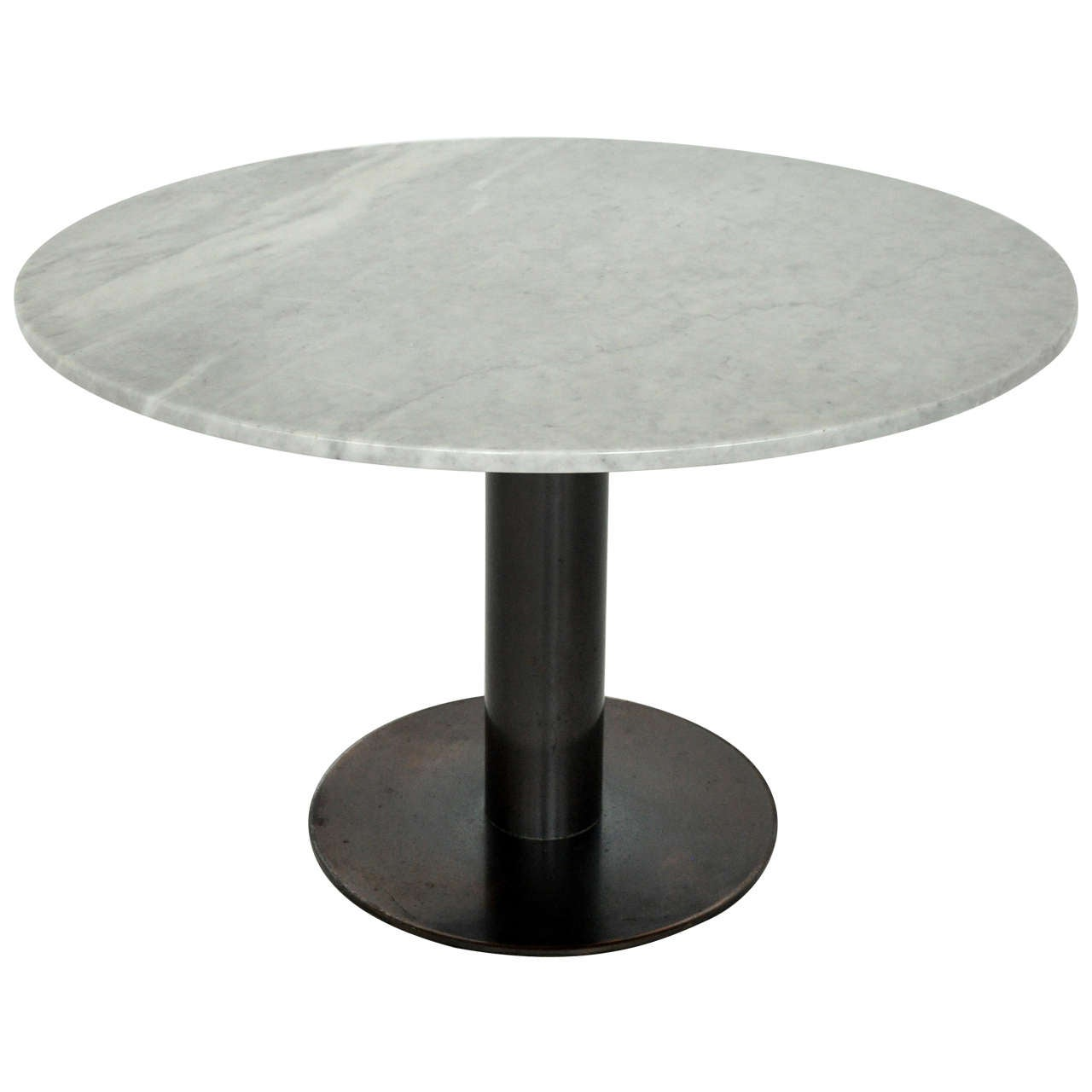 Nicos Zographos Dining Table with Bronze Base For Sale at  : X from www.1stdibs.com size 1280 x 1280 jpeg 46kB