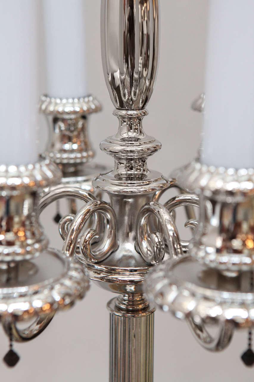 Georgian Style Candelabra Floor Lamp For Sale At 1stdibs