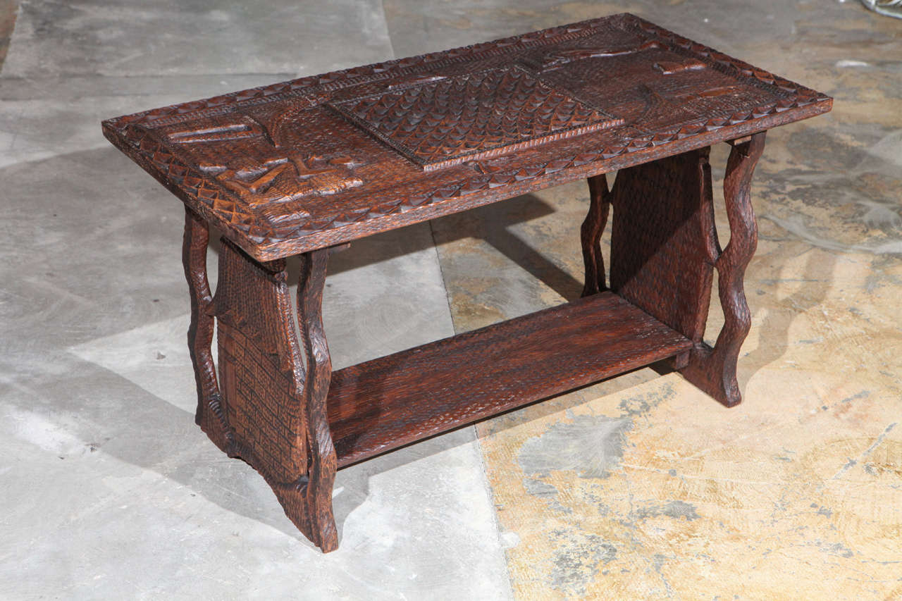 African Coffee Table For Sale at 1stdibs