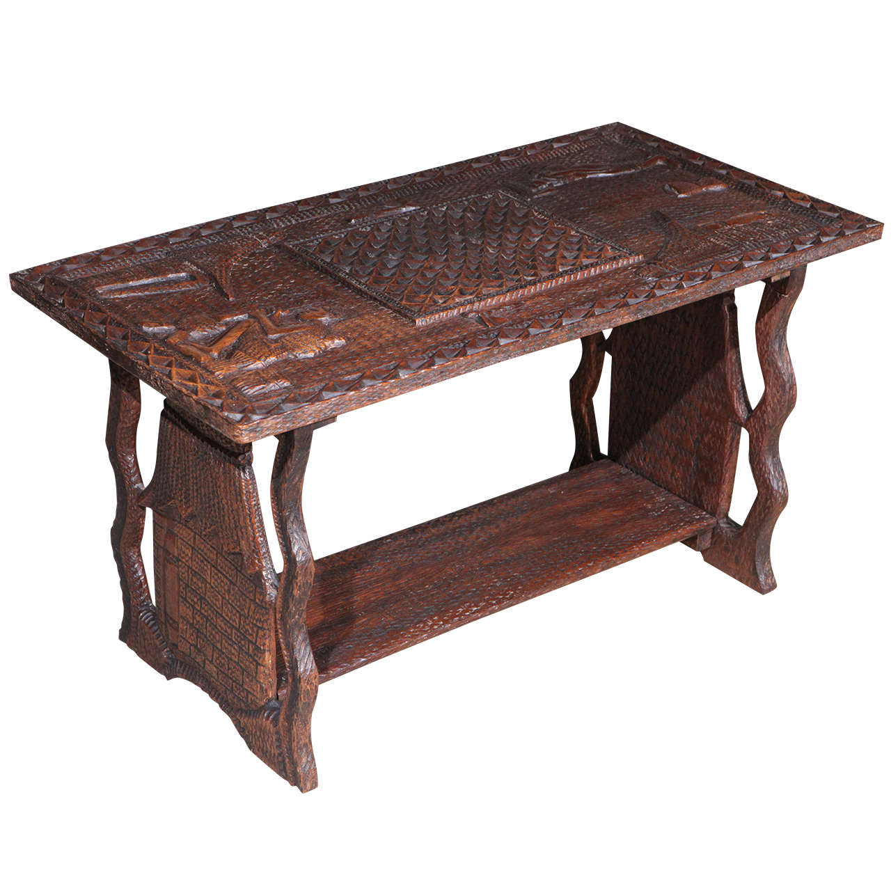 African Coffee Table For