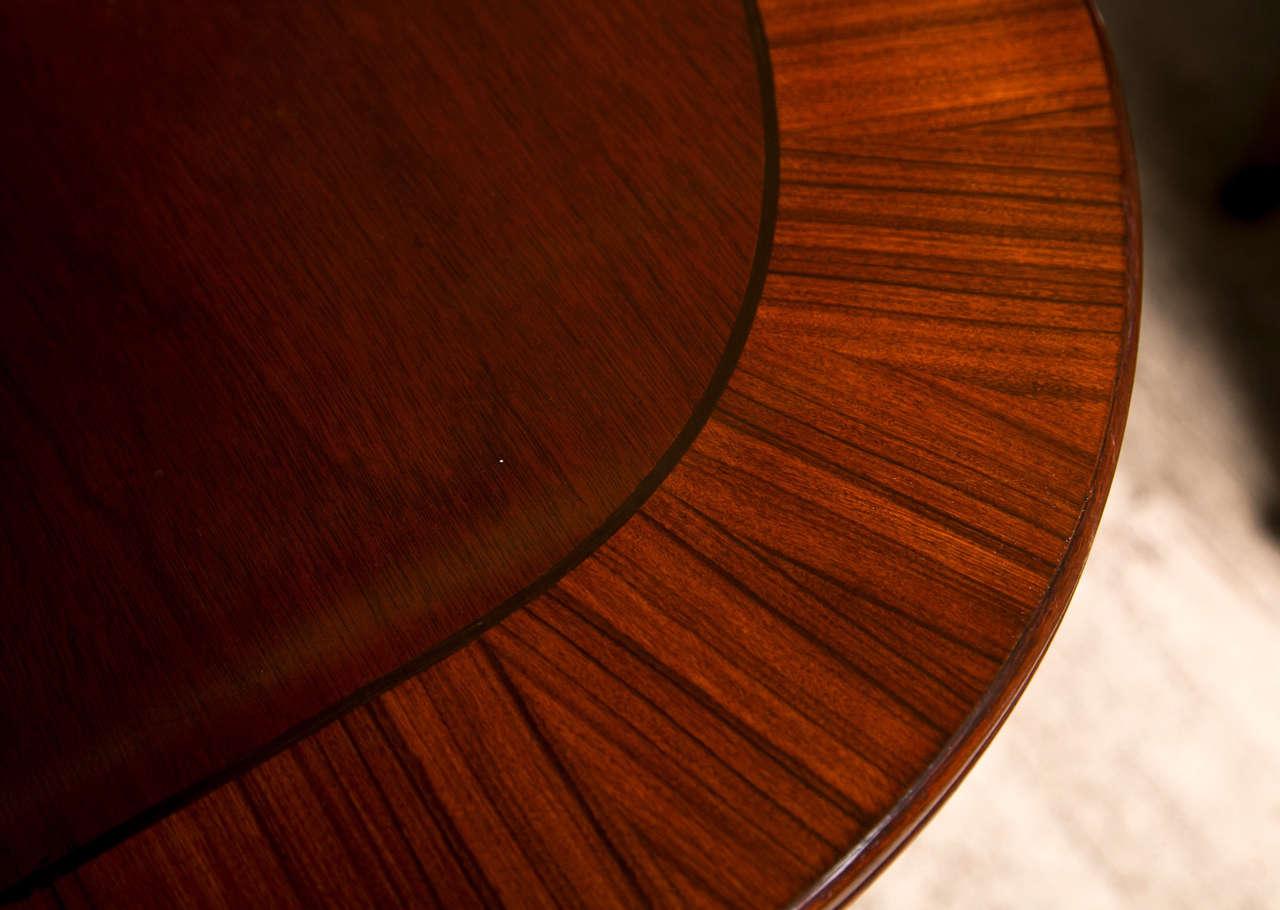 Mahogany  Double Pedestal Dining Table 2