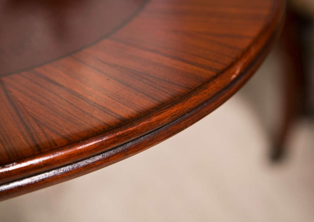 Mahogany  Double Pedestal Dining Table 3