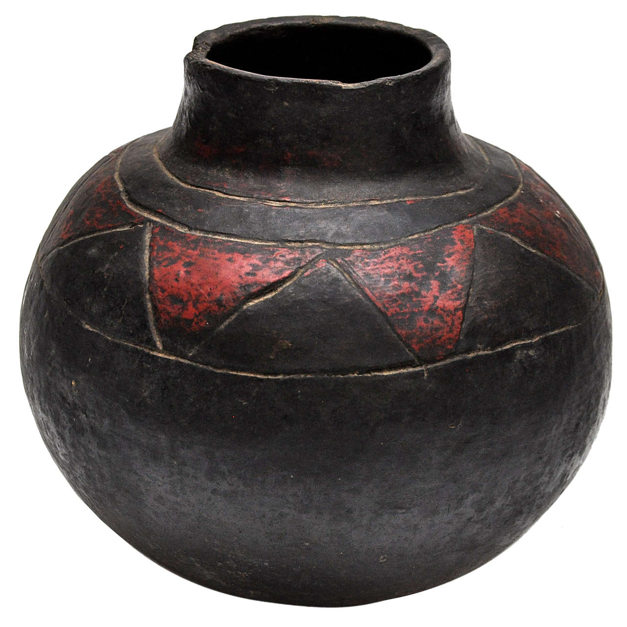 African Shona Pot At 1stdibs